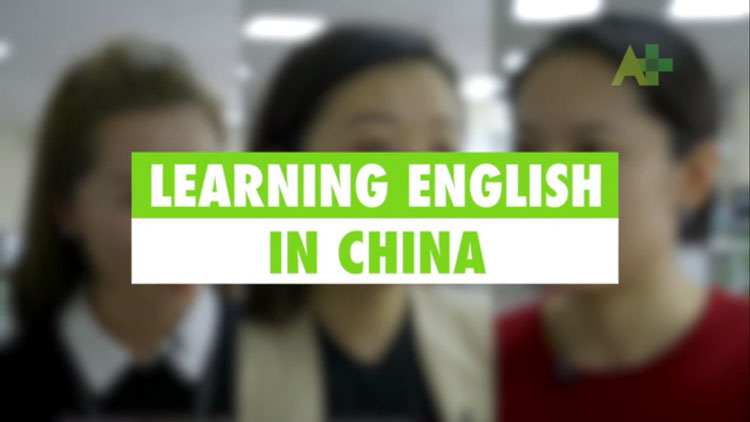 Learning English In China
