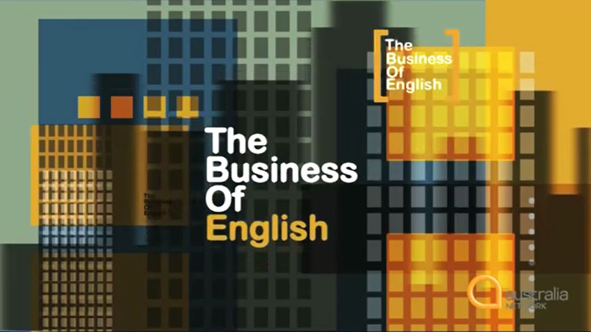 The Business of English Part 01 - 05